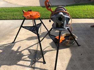 Ridgid 300 T2 Power Pipe Threader With Stand