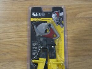 Klein 63607 10 25 Quick Release Locking Lever Ratcheting Acsr Cable Cutter