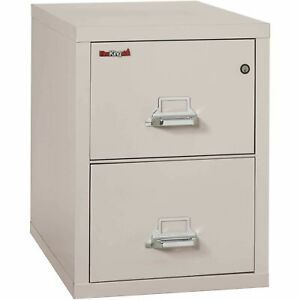 Fireking Fireproof 2 Drawer Vertical File Cabinet 22131pl Legal Size 21 w X
