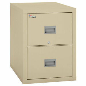 Fireking Fireproof 2 Drawer Vertical File Cabinet 2p1831 cpa Letter