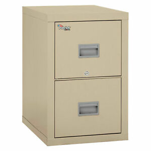 Fireking Fireproof 2 Drawer Vertical File Cabinet 2p1825 cpa Legal letter