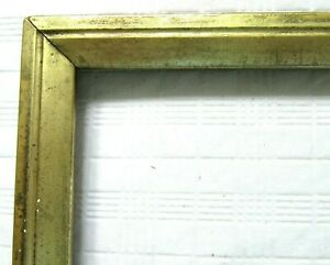 Antique Fits 8 X 10 Lemon Gold Gilt Picture Frame Wood Fine Art Country