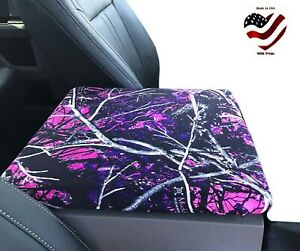 Fits Ram 2014 2021 Muddy Girl Auto Armrest Center Console Cover Usa Made C2