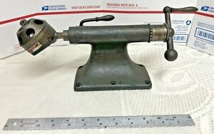 Enco Model A 2mt 6 Position Turret Tailsock W Vintage Tailstock Machinist Tool