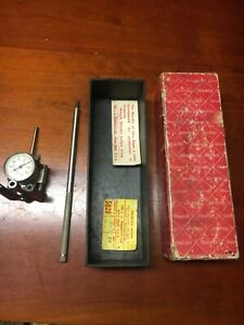 Vintage Old Antique L s Starrett No 462b Cylinder Gage With Box 2 1 2 to 6