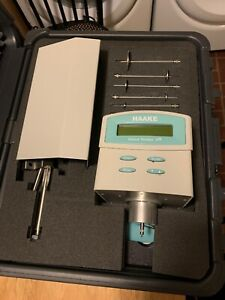Thermo Haake Viscotester 7r Viscometer With Hard Case Good Used Shape Vt7 r