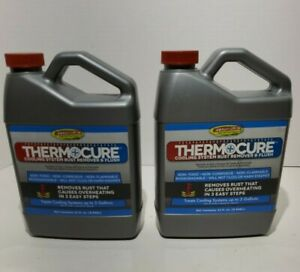2 X Thermocure 32 Oz Cooling System Rust Remover Flush