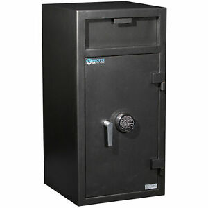 Protex Extra Large Depository Safe With Locking Compartment Electronic Lock