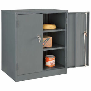 Unassembled Counter Height Cabinet 36x24x42 Gray