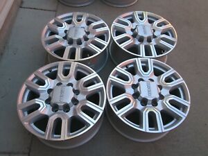 20 Gmc Denali Chevy 2500 Hd 3500 Hd Oem Factory Silver Wheels Rims 2020