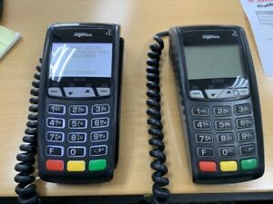 Lot Of 2 Ingenico Ict220 Credit Card Terminal And Emv chip Reader
