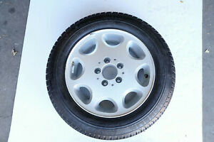 Mercedes Benz Oem W124 Wheel Rim And Tire 195 60 15 Inch Mxv Great Cond