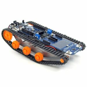 Dfrobotshop Rover V2 Arduino Compatible Tracked Robot basic Kit