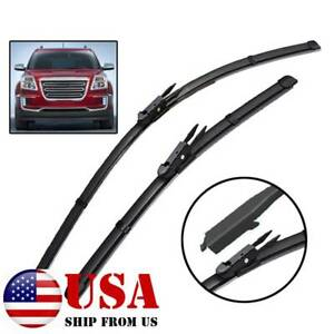2pcs Set Front Windshield Wiper Blades Fit For Gmc Acadia Mk1 2012 2016 24 21