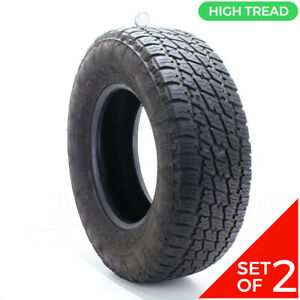 Set Of 2 Used 285 70r17 Nitto Terra Grappler G2 A T 116t 10 5 11 32