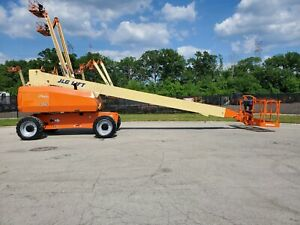 2011 Jlg 800s 4x4 80ft Telescopic Boom Lift Man Lift Aerial Lift Boom Manlift