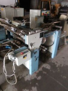 Mbo T 46 Pile Feed 4 4 Paper Folder With Right Angle