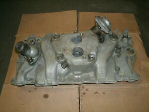87 To 95 Tbi Aluminum Intake Sbc 305 350 Complete 14102182 Chevrolet