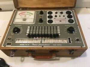 Superior Instruments Model Tv 12 Trans Conductance Tube And Transistor Tester