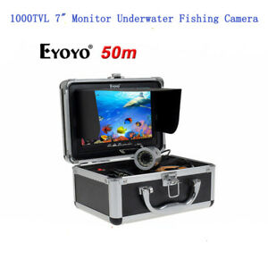 Eyoyo 50M Underwater Fishing Camera Sea/Ice Fish Finder 1000TVL 7