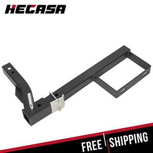 Rv Truck Receiver Hitch Spare Tire Mount Heavy Duty Steel Powder Coated