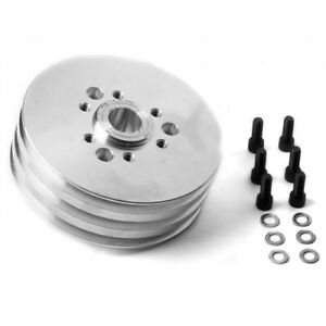 Weiand 7114win Accessory Drive Pulley Fits 8 71 Blower 3v 2 In Locating Pilot