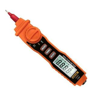 A3002 Digital Multimeter Pen Type 4000 Count With Non Ac dc Tester Tool J8g2