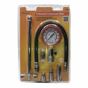 Actron Cp7828a Professional Compression Tester Kit With 10mm 12mm 14mm 14mm L