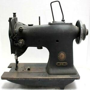 Singer 151w1 Walking Foot Lockstitch No Reverse Industrial Sewing Machine Head