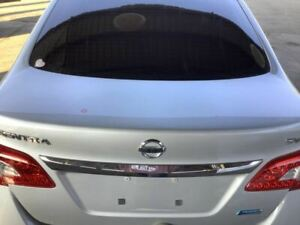 Trunk hatch tailgate S Without Spoiler Fits 13 15 Sentra 408519