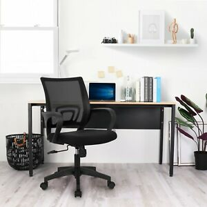 Office Chair Computer Desk Chair Gaming Ergonomic Mid Back Cushion Lumbar