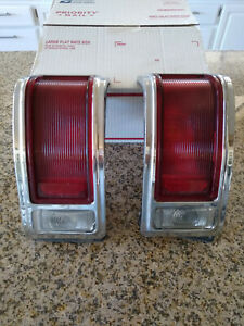 1965 65 Dodge Coronet 440 Tail Light Assembly Left Right Pair