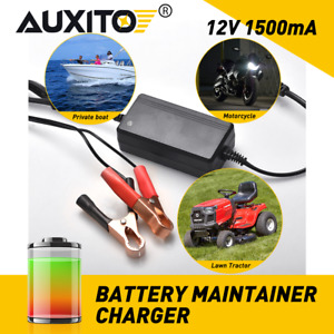 Car Battery Charger 12v Portable Auto Trickle Maintainer Boat Motorcycle Rv Eob