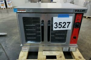 3527 Used Vulcan Full Size Electric Convection Oven 240v Model Vc4ed 12d1