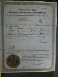 1928 Chevrolet Coach Barn Find Historical Document