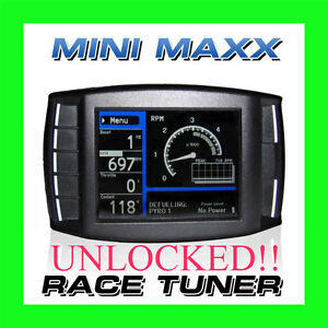 H S Performance Mini Maxx Race Tuner Programmer For Powerstroke Cummins Duramax