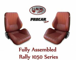 Procar Complete Bucket Seats 80 1050 56 Low Back Rally Seats For 1973 87 C10