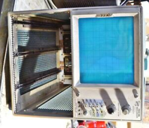 Tektronix 7403 Oscilloscope For Parts Or Repair Barely Working