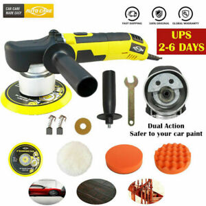 6 Dual Action Orbital Car Polisher Da Buffer Variable 6 Speed Polishing Machine
