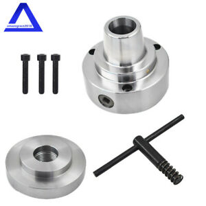 5c Collet Lathe Chuck Closer With Semi finished Adp 1 1 2 X 8 Thread