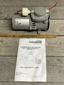 New Thomas 207cdc20 12 Piston Vacuum Pump 1 10hp 12v 100psi Air Ride brakesrv