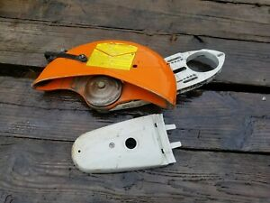 Stihl Ts420 Concrete Saw Support Arm Blade With Cover Free Shipping