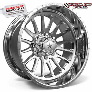 American Force Ckh10 Nemesis Concave Polished 24 x14 Wheel 8 Lug set Of 4