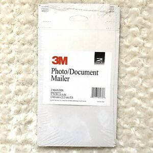 3m Photo document Mailer 2 Pack Mailers 5 75 In X 8 5 In New Office Supplies