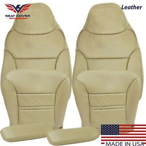 2000 2001 Ford Excursion Limited Xlt Leather Full Front Package Seat Covers Tan