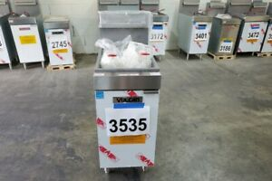 3535 Vulcan Veg Series Natural Gas Fryer Model 1veg35m 1 Free Shipping