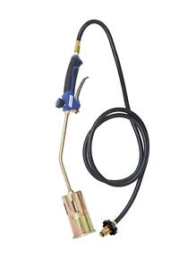 320 000 Btu Propane Torch Steel Nozzle With Turbo Blast Trigger And Flow Valve