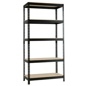 5 tier Steel Shelving Unit Storage Shelves Heavy Duty Storage Rack