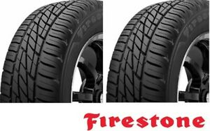 2 New Firestone Firehawk Wide Oval As P205 60r16 91v 2 Tires 205 50 16 Wh9 M