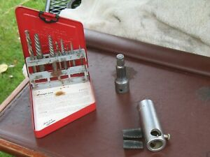 Snap On Tools Lot Extractor Set Stud Puller La 54 Snap Ring Impact Extension